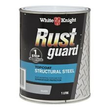 White Knight Rust Guard 1L Structural Steel Topcoat