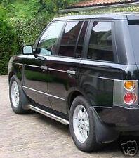 Land Rover Brand Range Rover L322 2003+ Genuine OEM Chrome Side Protection Tubes