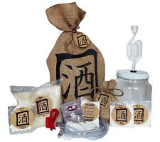 Barrel Brew Desktop Series Sake Kit - Home brew Equipment & Ingredient Kit Wine