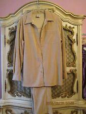 Allison Daley 2 piece Brown Pant Suit Jacket 16, Pants 14