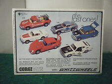 """Corgi de catálogo: """" 1970"""" (6 página Extraible con los precios)"""