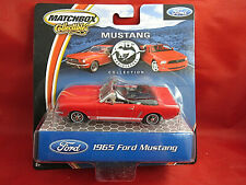Matchbox Collectibles 1:43 40th Anniversary 1965 Ford Mustang - Red  - New!