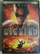 Chronicles of Riddick (DVD, 2004, Unrated Directors Cut - Widescreen) Ships FAST