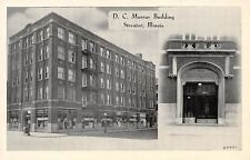 Streator IL~DC Murray Bldg~Fredman Bros Furniture Sale~Elevator Entrance~B&W PC