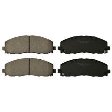 Premium Ceramic Disc Brake Pad FRONT NEW Set With Shims Fits Chrysler KFE1589