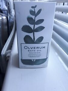 NEW Sealed 125ml OLVERUM Bath Oil Essential Oil VEGAN