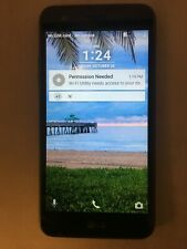 LG Rebel 2 LGL58VL Tracfone Wireless Black 8GB Android Smartphone/Cell Phone