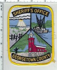 Georgetown County Sheriff (South Carolina) 4th Issue Uniform Take-Off Patch
