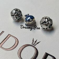 Pandora Ocean Shimmering Narwhal and Openwork Seashell set