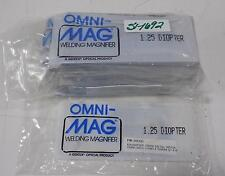 OMNI-MAG WELDING HELMET MAGNIFIER 1.25 DIOPTER LOT OF 11