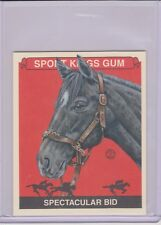 RARE 2013 SPORT KINGS SPECTACULAR BID MINI CARD #296 HORSE RACING KENTUCKY DERBY