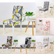 4/8Pcs Stretch Chair Covers for Dining Room Fashion Chair Covers