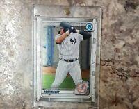 Bowman Chrome Jasson Dominguez 🔥🔥📈📈 FREE SHIPPING NEW YORK Yankees