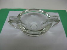 Art Deco Style PARKER (Chance Glass) Ashtray - clear glass -Robert Gooden - VGC