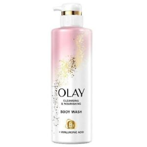 Olay Nourishing Body Wash with Vitamin B3 and Hyaluronic Acid
