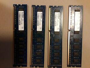 Elpida 8GB (4 x 2GB) desktop memory PC3-10600U (DDR3 1333 MHz)