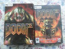 Doom 3 & Resurrection of Evil Expansion(PC: Windows, 2005)