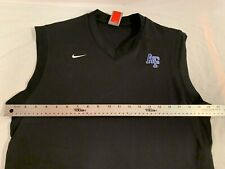 Mens Nike Fit Dry Team Us Air Force Black Small Golfing Pullover Sleeveless Vest