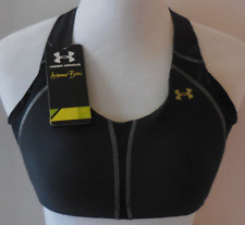 Under Armour Women's Sports Bra Hi-Impact Support Protegée Cup Size 36A New