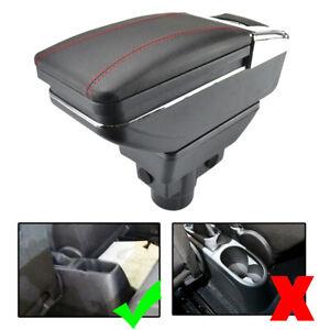 Car Armrest Storage Box For Opel Vauxhall Corsa D 2006-2014 Arm Rest