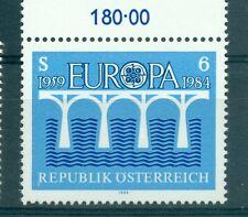 EUROPA CEPT - AUSTRIA 1984 Bridge