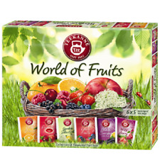Teekanne World of Fruit Tea Selection NEW 6 flavours 5 teabags each