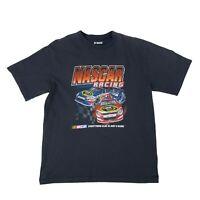 Nascar Sprint Cup T-Shirt Men's Size XL Black Short Sleeve Racing Fan Tee *READ