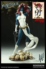 Sideshow Exclusive Mystique Comiquette Premium Format Scale X-Men Comics Statue
