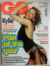 "Kylie Minogue Revista ""GQ"" UK Octubre 2001"