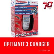 GENUINE HONDA OPTIMATE 3 BATTERY CHARGER/OPTIMISER