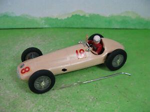 vintage hawk 1961 built model kit racing car mercedes w163 1939 grand prix 2182
