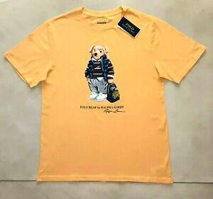 Polo Ralph Lauren T-shirt Preppy Bear men`s M or XL (18-20 y.o. boys) or women L