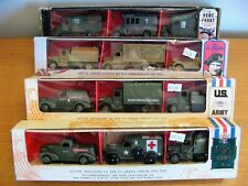 Lledo Days Gone Military Boxed Set Collection - 4 x 3 Various Vehicle Army Sets