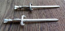 Runenschwert Anhänger Silber 925 Sterling Kelten Runen Wikinger Schwert keltisch