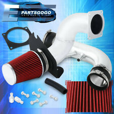 For 96 04 Ford Mustang Gt 46l V8 Chrome Cold Air Intake System Kit Red Filter Fits Mustang