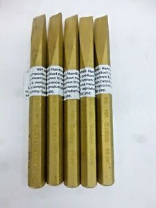 """NEW!! PROTO BRASS COLD CHISEL, 1/2"""" TIP SIZE, 6""""LENGTH, J8612B  ,1 Chisel"""
