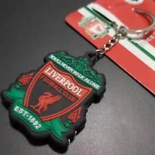Liverpool FC Crest Badge  PVC Keychain Premier League Soccer Souvenir