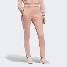 Adidas DV2593 Mujeres Originales Superstar pista pantalones largos rosa