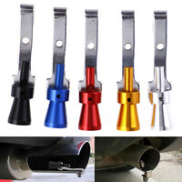 Universal Car Turbo Sound Exhaust Muffler Pipe Whistle  Simulator Accessories HO