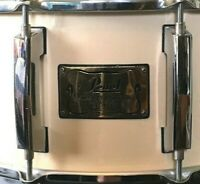 "Pearl 6x14"" Masters Custom Snare Drum P98416 Maple Shell White Chrome Black Gold"
