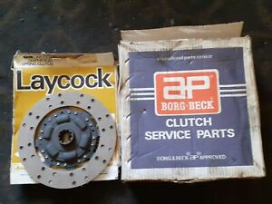 Clutch cover driven plate Austin Gypsy petrol Borg Beck 45692/71