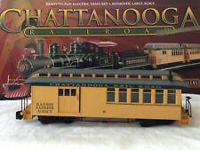 Bachmann Big Haulers Chattanooga Freight Car Train Lighted G Scale Good Cond