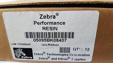 ZEBRA UNI-RIBBON 84MM X 74M 05095BK08407 (12PACK)(r1s8.4b2)