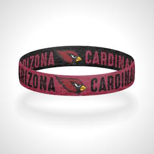Reversible Arizona Cardinals Bracelet Wristband Rise Up Red Sea