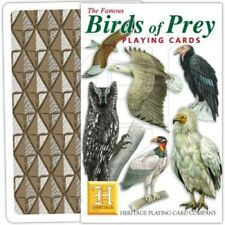 Heritage Playing Cards - Birds of Prey - NEW & SEALED