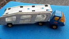 Tonka - Camion remorque porte auto - Fer