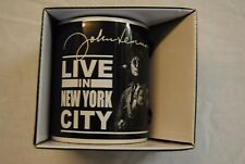 JOHN LENNON LIVE IN NEW YORK CITY MUG CUP TEA COFFEE NEW OFFICIAL BOXED