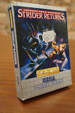 Sega Game Gear juego: Strider return-Embalaje original-Boxed-jeux/Game
