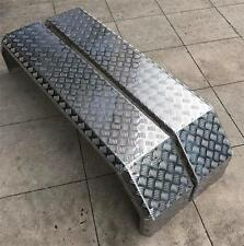 ALUMINIUM TANDEM TRAILER GUARDS,, SUITS ROLLER ROCKER SUSPENSION. 300MM WIDE