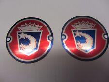 d'ORIGINE LAMBRETTA accessoire ROUE Disque spinner badges N. O. S. Paire Ulma /